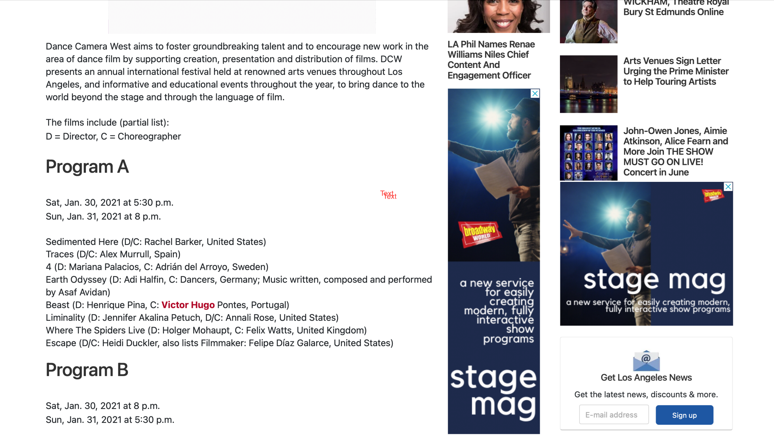 Broadway Programme Screenshot 2021-05-02 at 19.31.09