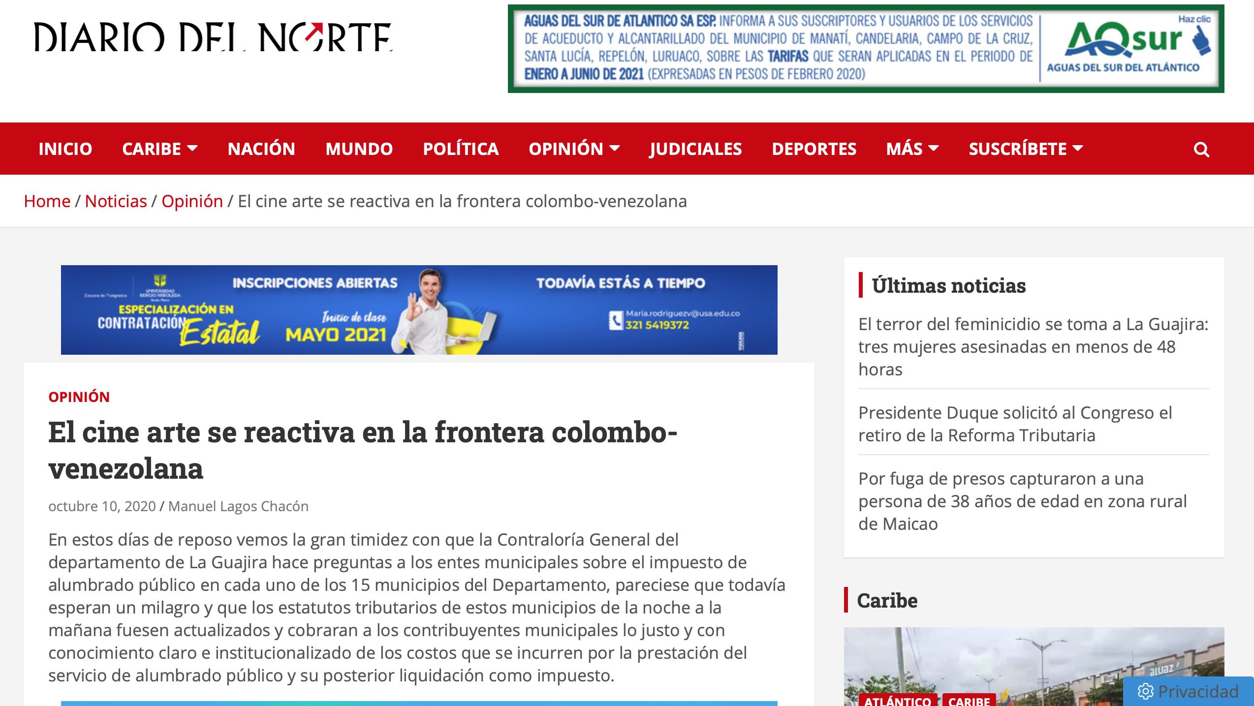 Diario del Norte 1 Screenshot 2021-05-02 at 19.56.33