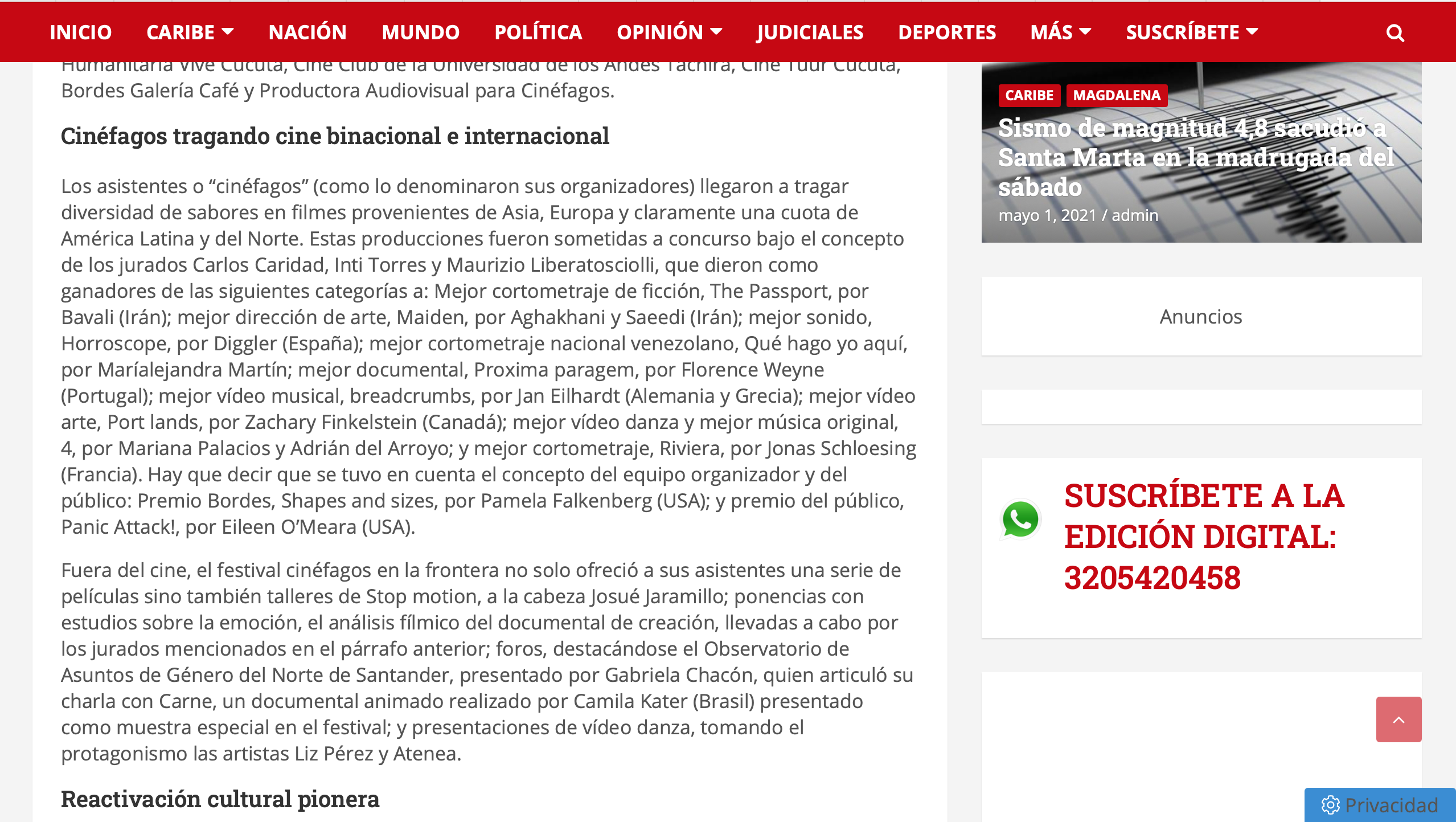 Diario del Norte 2 Screenshot 2021-05-02 at 19.58.28